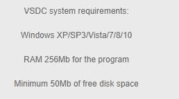 محرر الفيديو VSDC 32-bit