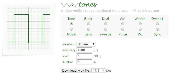 5 Best Online Tone Generators