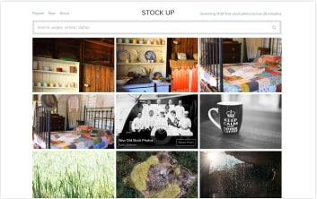 websites stockup stock photos