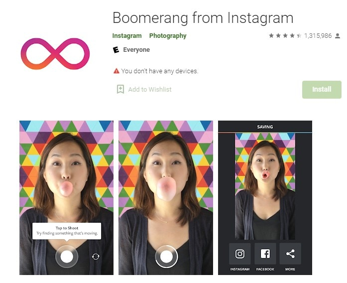 What Is Instagram Boomerang