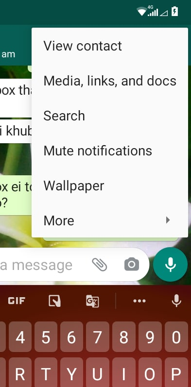 Whatsapp Search Old Chat