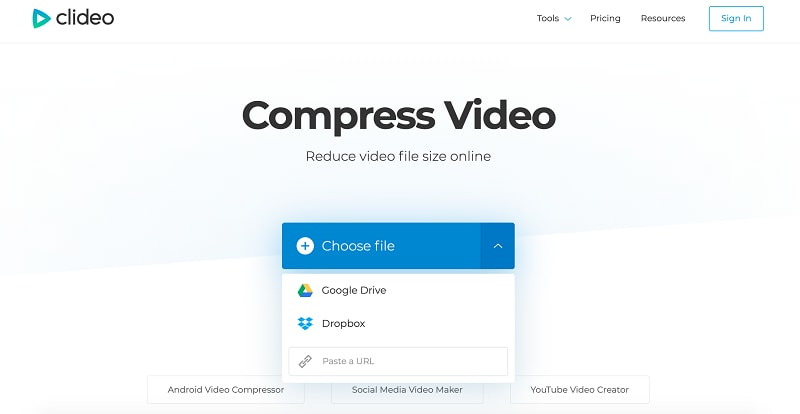 Whatsapp Video Compressor Clideo
