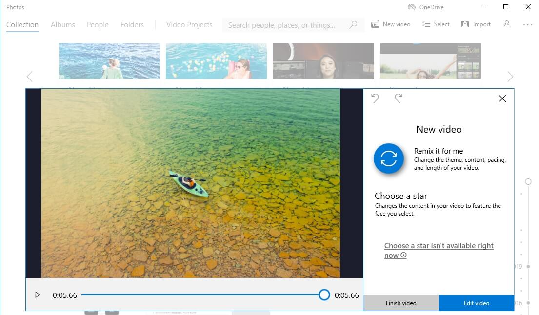 Montaggio Video con l'Alternativa a iMovie - Foto di Windows 10