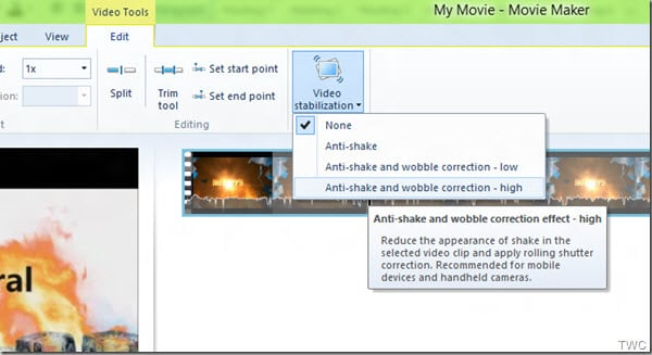 Anti-shake Video Editing Software