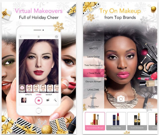 you cam makeup apps download free