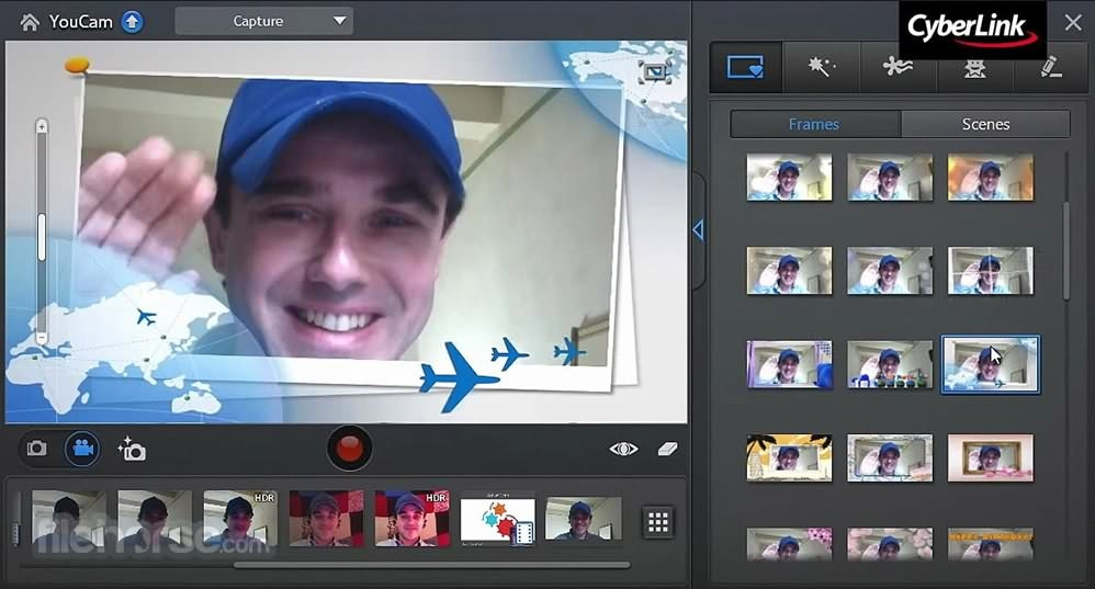 YouCam Webcam recording software