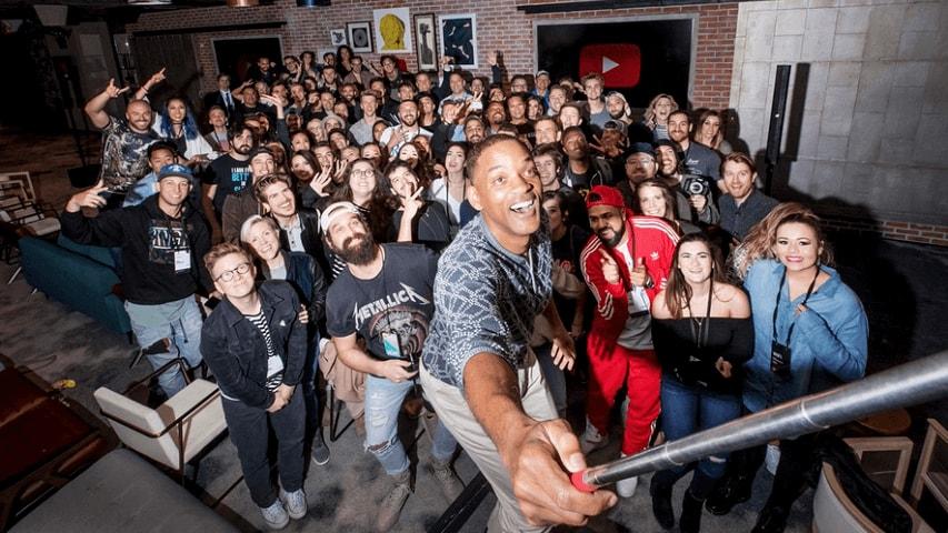 YouTube Creator Summit Group Photo