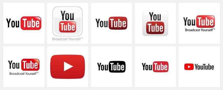 YouTube Logo Icon on Seeklogo