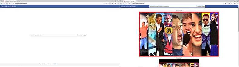 YouTube Thumbnail Grabber