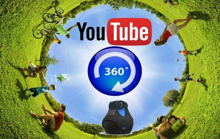 Youtube Virtual Reality app screenshot