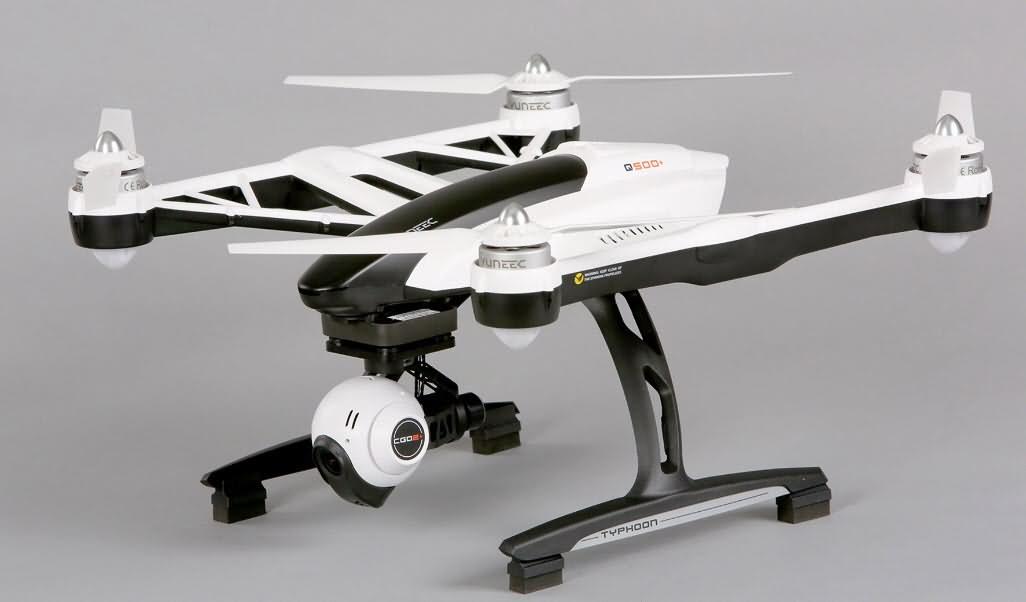 drones yuneec q500 + avec le temps de vol le plus long