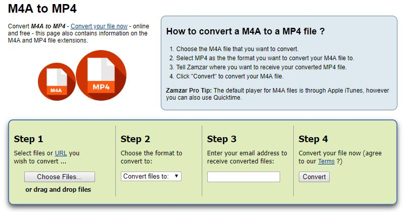 How to Convert M4A to MP4 with Best Converters