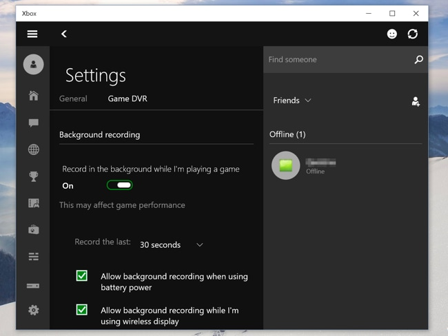 Built-in Free Screen Recorder for Windows 10