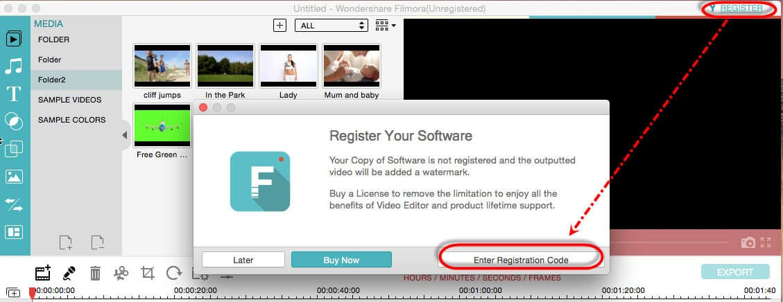 wondershare filmora licensed email and registration code