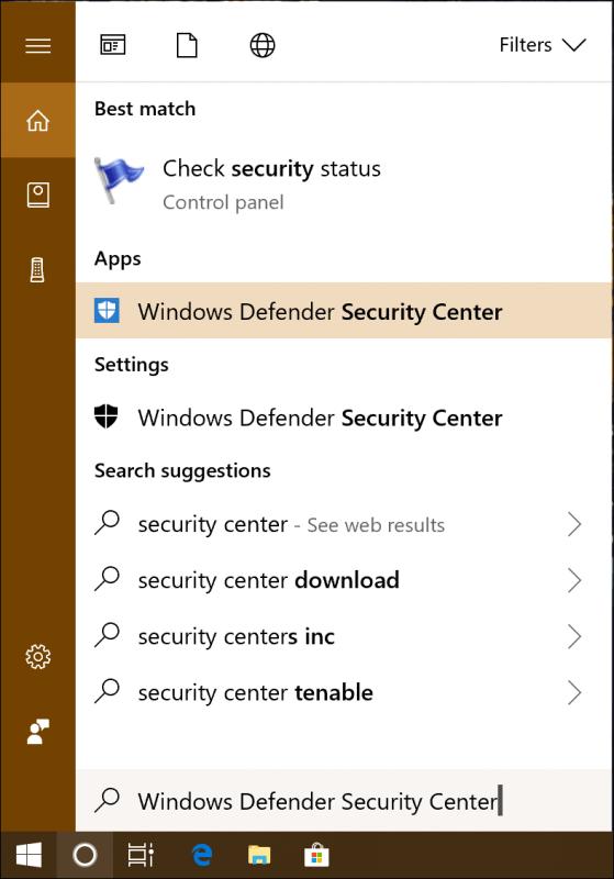 défenseur de Windows