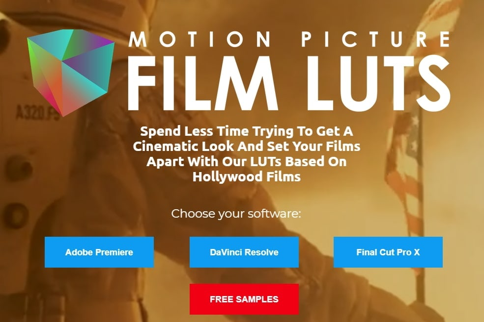 Motion Picture Film LUTs