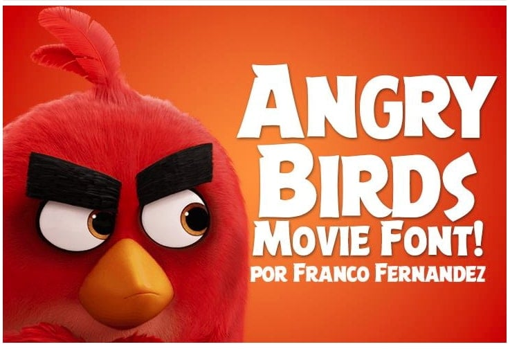 Angry Birds Movie Font