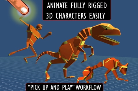3d animation apps Anim8