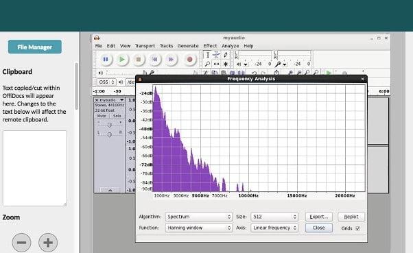 Audacity free online audio editor