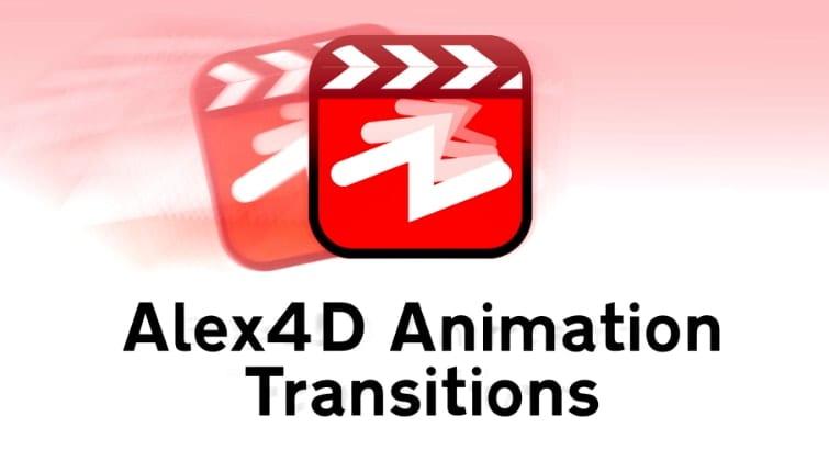 Transições de animação Alex4D