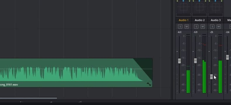 Apply Audio Transitions