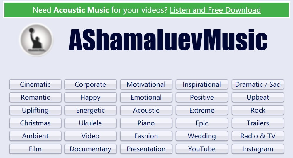 free corporate music