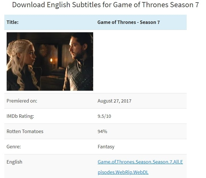 Asksubtitle download season 7 subtitles