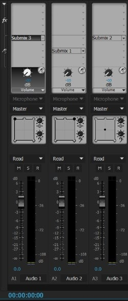 Audio Track Mixer details