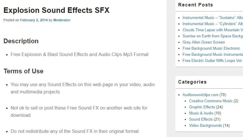 Audiosoundclips