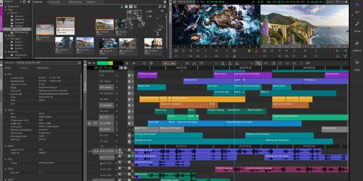 Best professional video editing software [2019 List Free