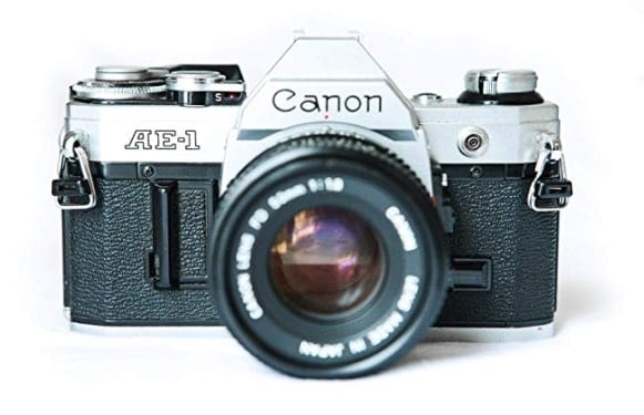 The Canon AE-1 35mm Film Camera