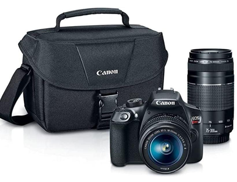 Kit de cámara digital SLR de Canon
