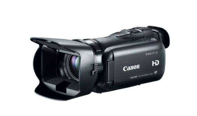 Camescope Canon VIXIA HF G20