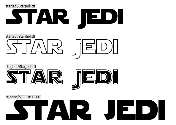 10 Star Wars Fonts to Make Your Video Amazing