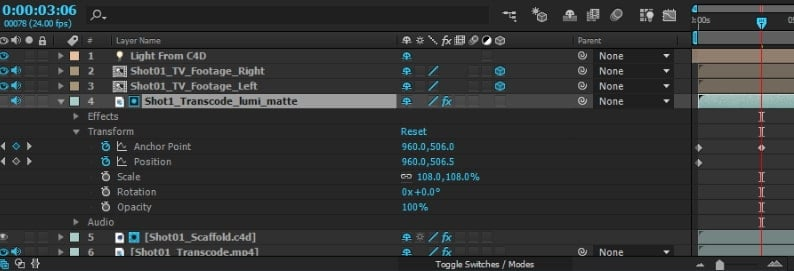 how to Delete Keyframes after effects