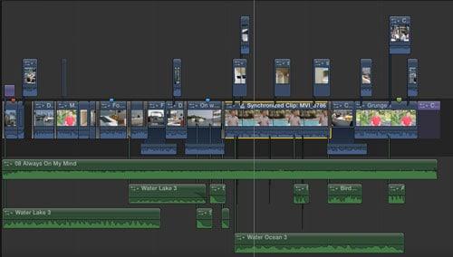 Sequenza final cut pro