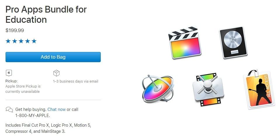 final cut pro student discount