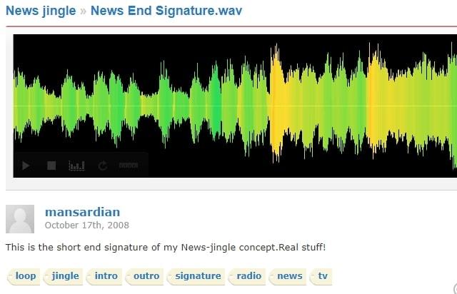 News End Signature