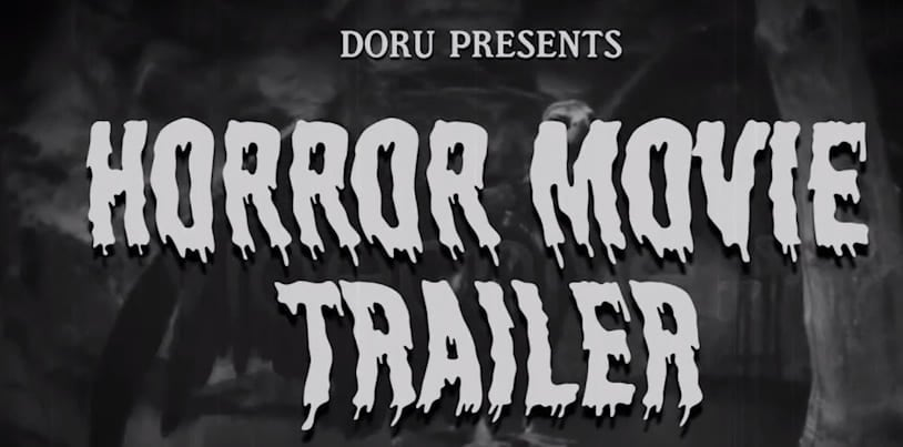 Horror Movie after Effects Trailer Template