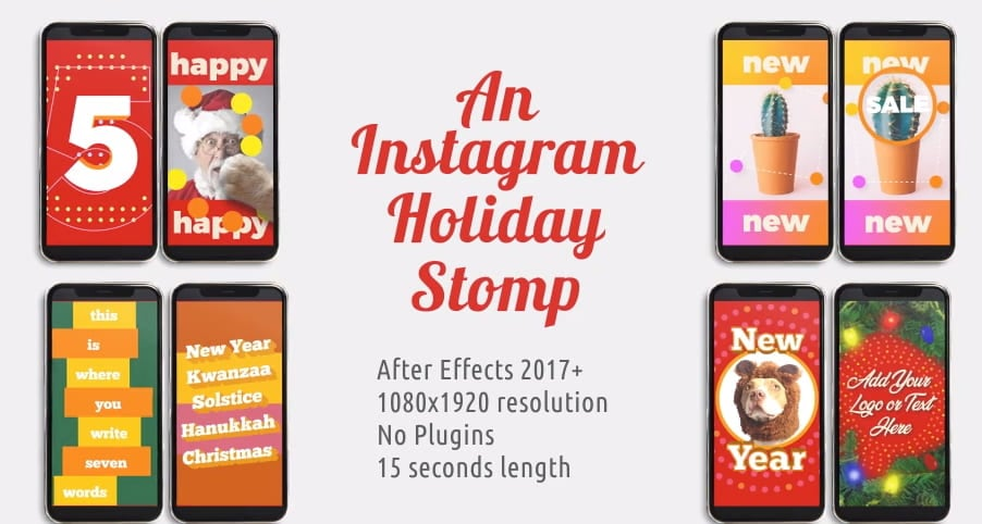 Instagram Holiday Stomp