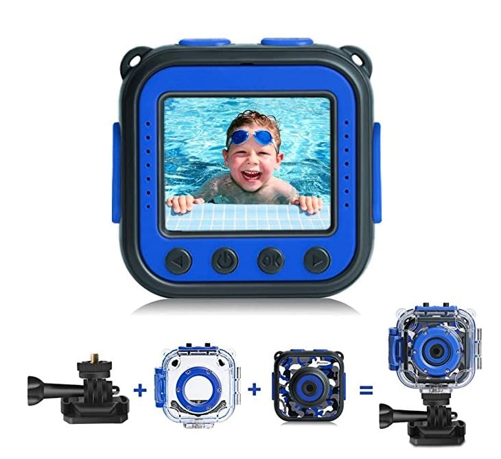 Kids Waterproof Digital Camera