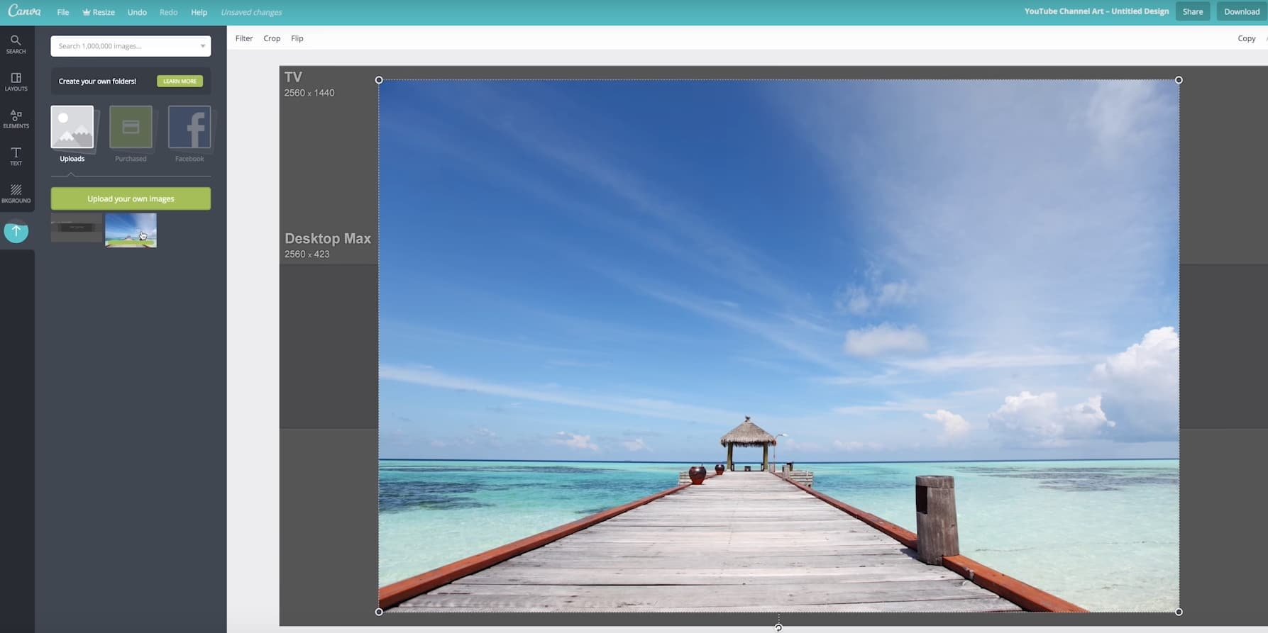 Make a YouTube Banner with Canvas