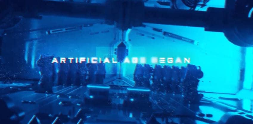 Trailer do filme futurista