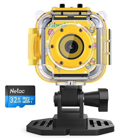 Oiiwak Kid Waterproof Digital Cameras