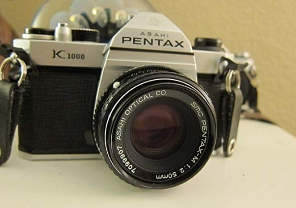 Pentax K1000 Manual Focus Film Camera