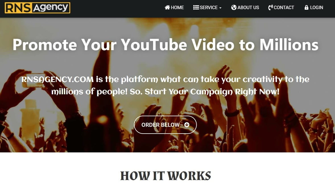 Youtube Video Promotion Services rnsagency