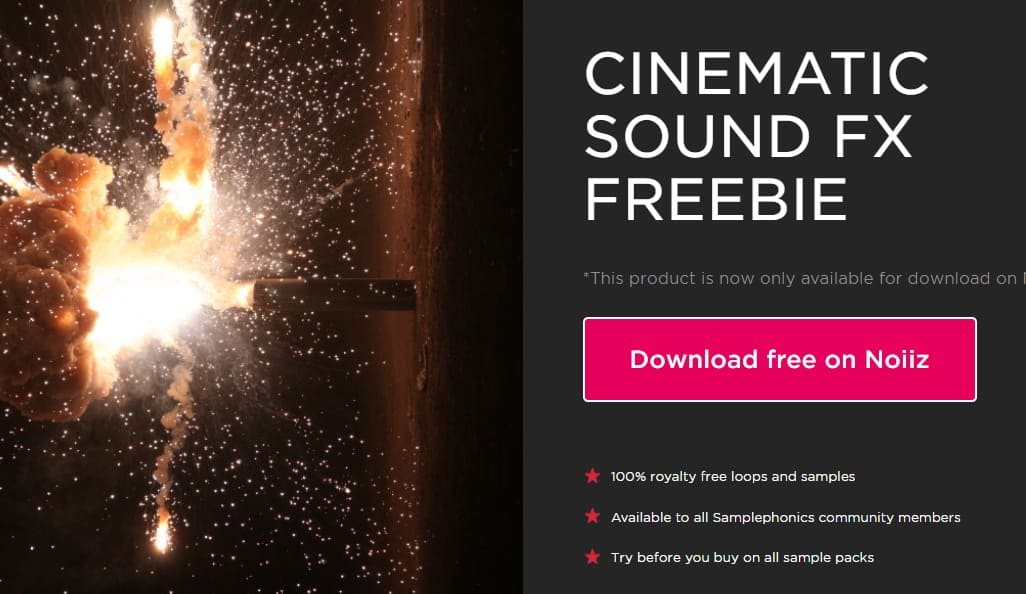 Sample Phonics-Cinematic Sound FX Freebie