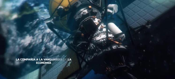 Trailer de ficção científica do espaço após o modelo de efeito