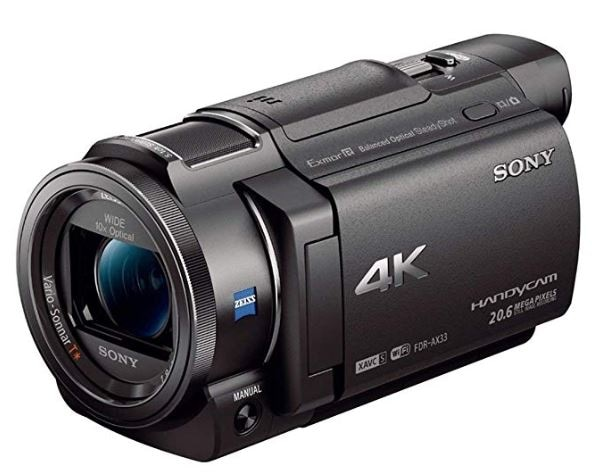 Sony 4K HD FDRAX33