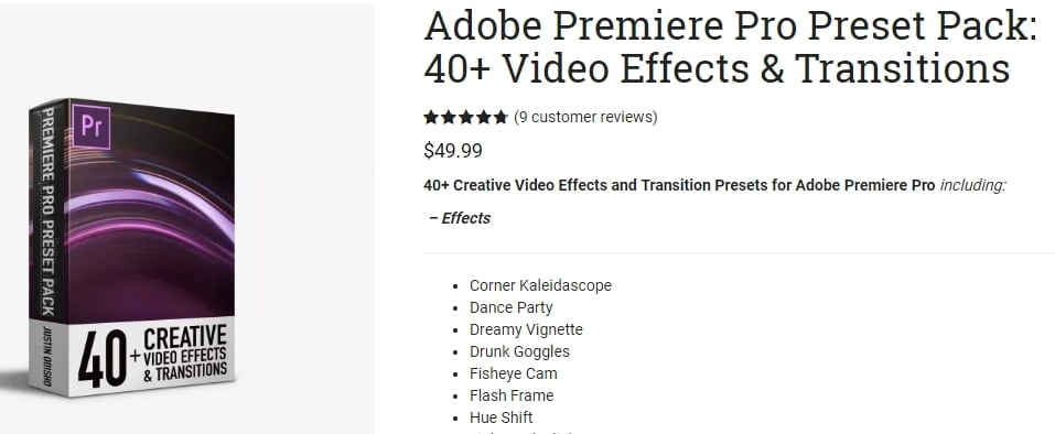 premiere pro transition plugins